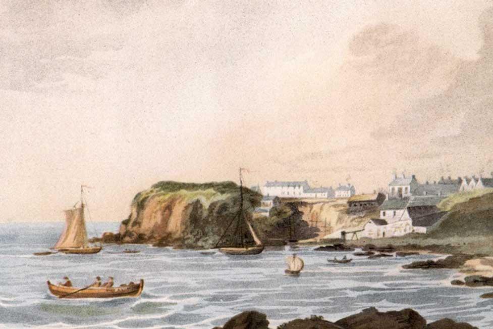 Portrush Harbour c1822