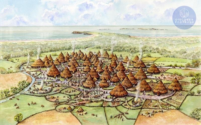 Corrstown Bronze Age Village c1500BC