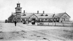 Portrush Railway Station c1895