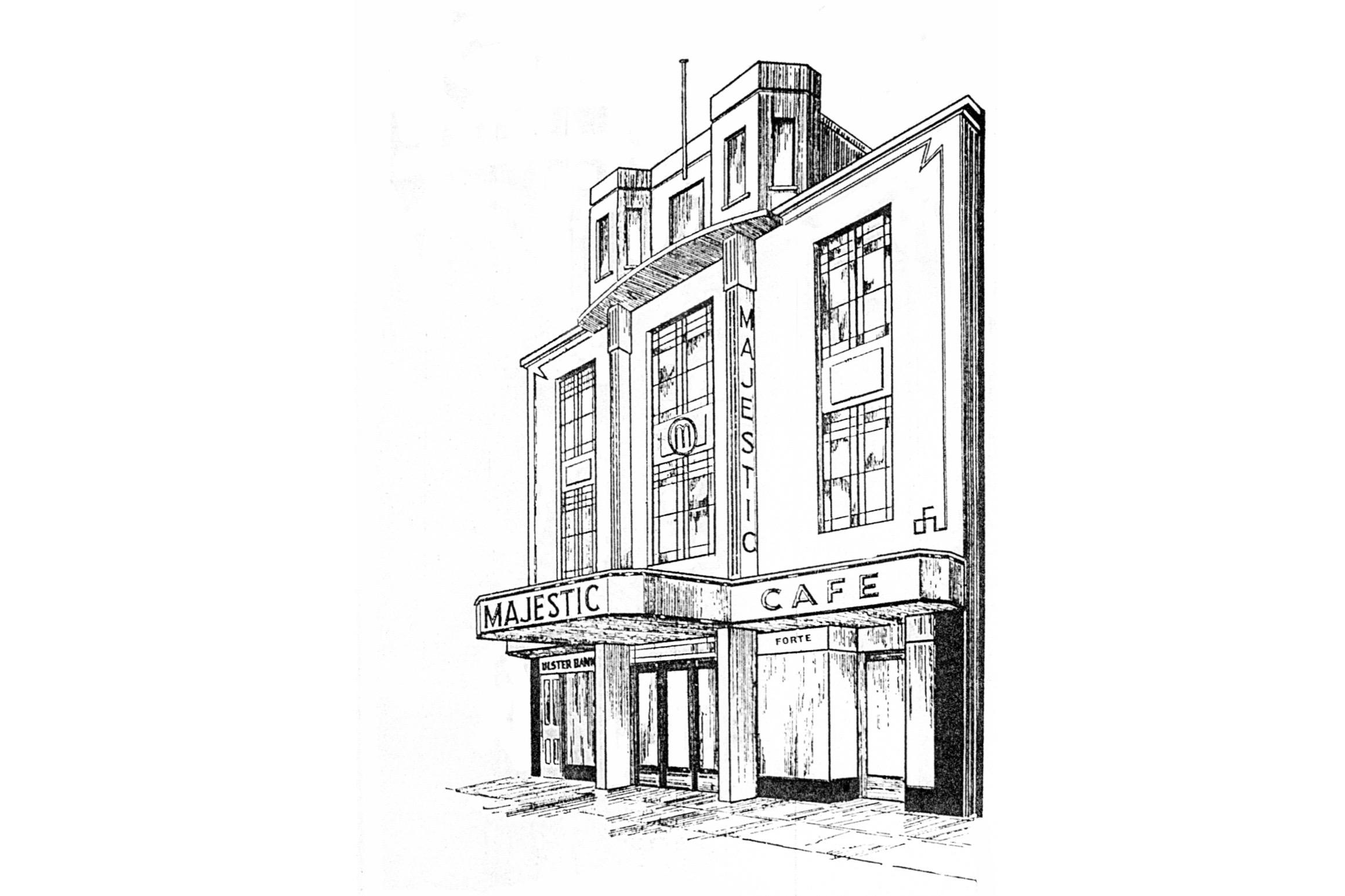 Portrush Majestic Cinema (Drawing)