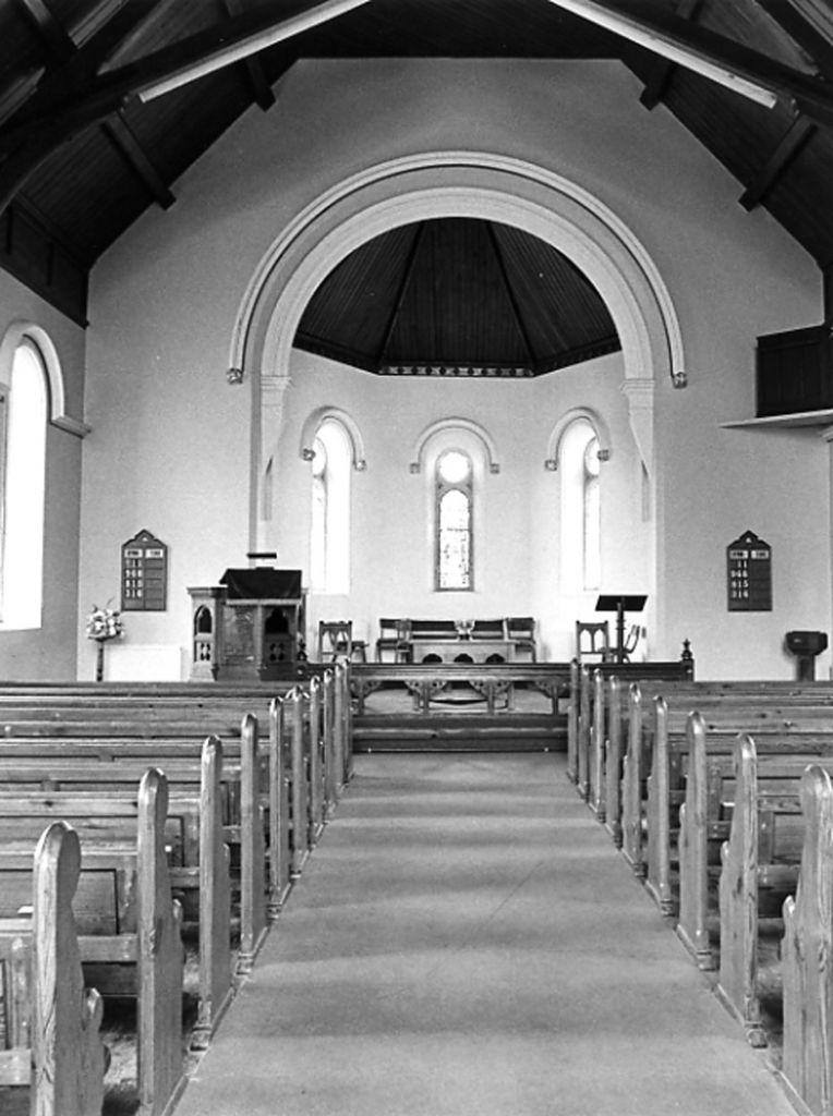 Interior of Adam Clarke Methodist Church Portrush