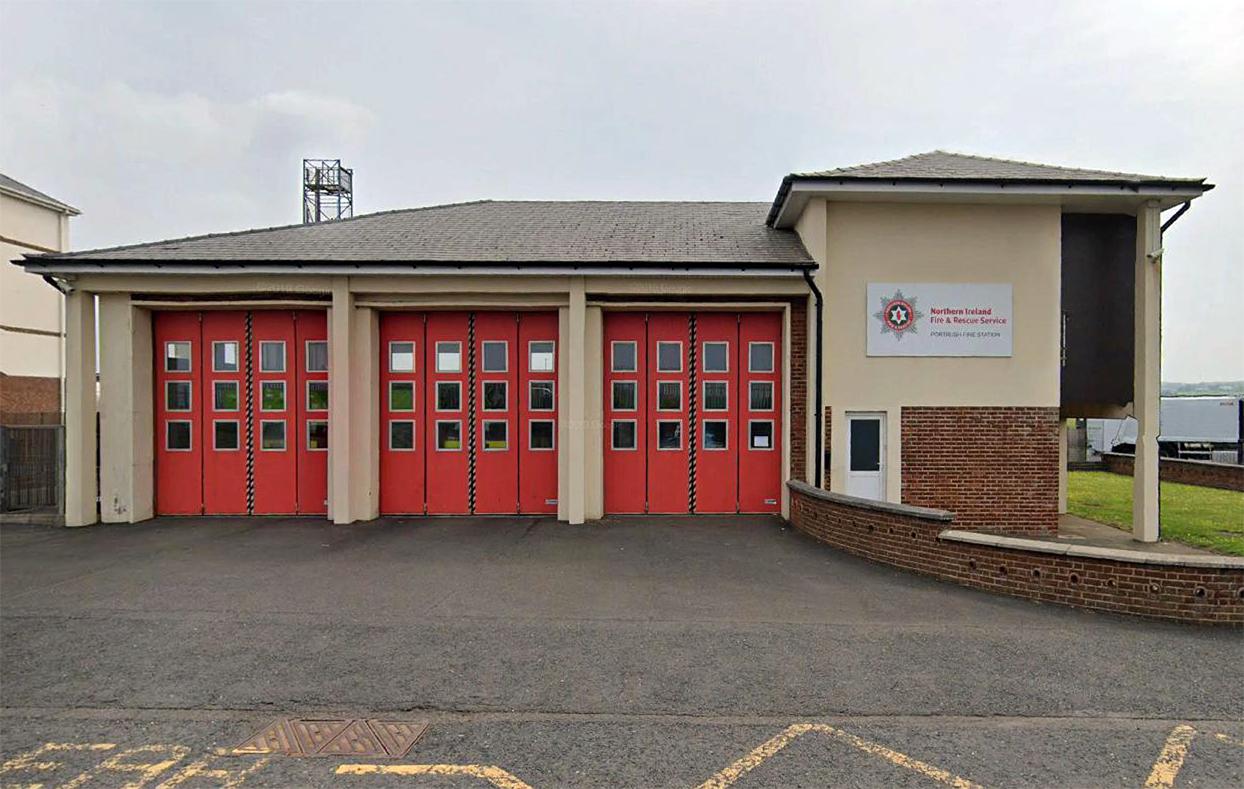 Portrush Fire Station