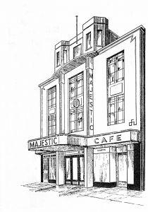 Majestic Cinema Drawing
