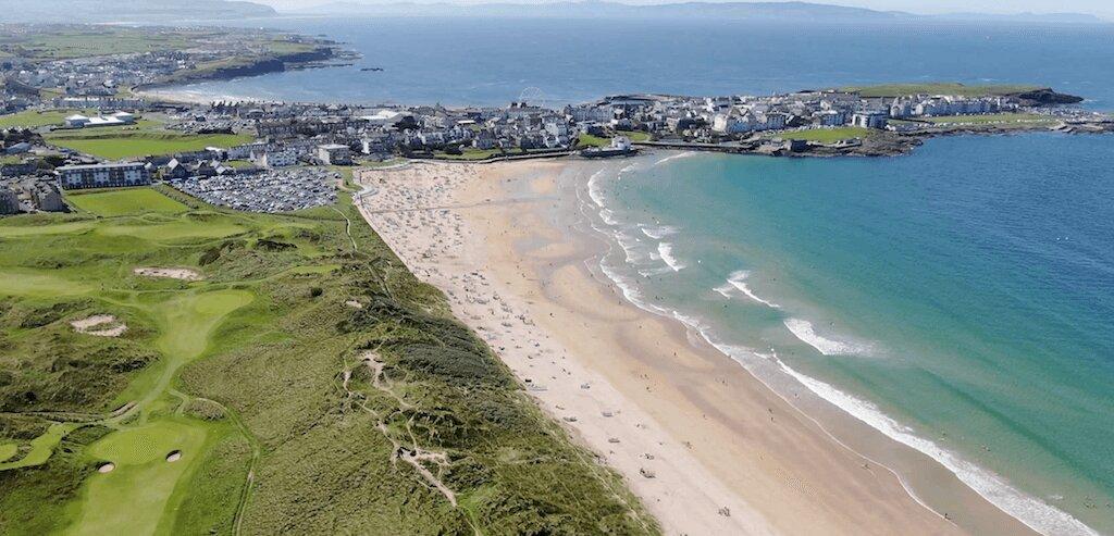 Portrush Aerial View 2020