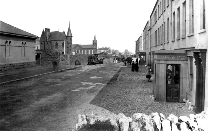 Portrush Railway Station and Causeway Tram