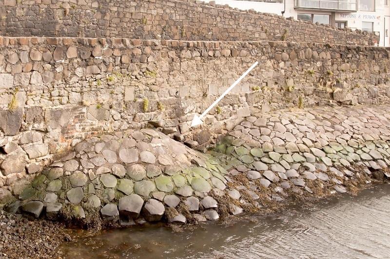 Portrush Harbour, Pilgrim Steps
