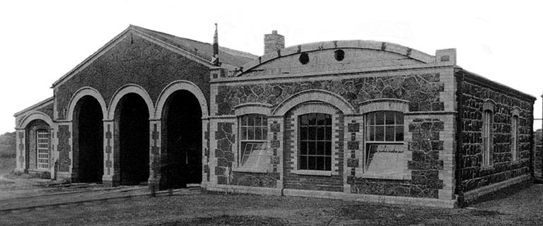 Portrush Tramway Depot
