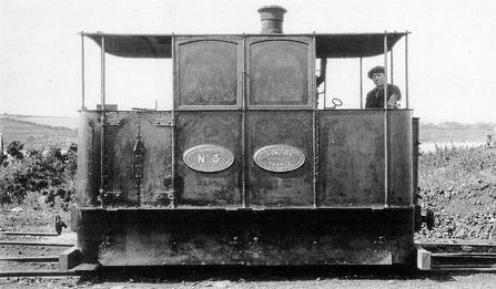 Wilkinson Steam Tramway Locomotive Dunluce Castle c1886