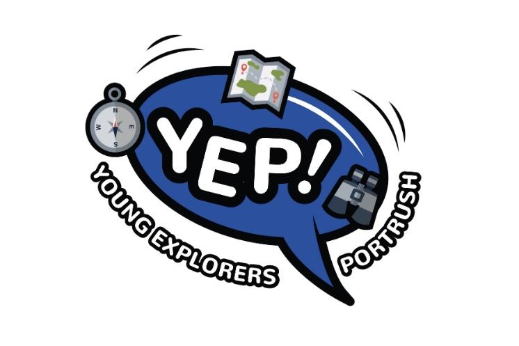 YEP! Young Explorers Portrush Logo